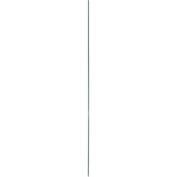 Tyčka sklolaminátová priem. 10 mm, zelená s kov. špič, 120 cm
